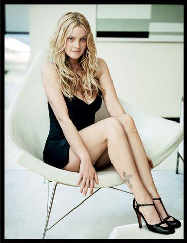 Ünlü aktrist Drew Barrymore'un boyu da 1.63 cm!